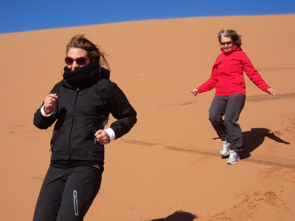 Enchanted Adventures - Tatjana and Mom in South America